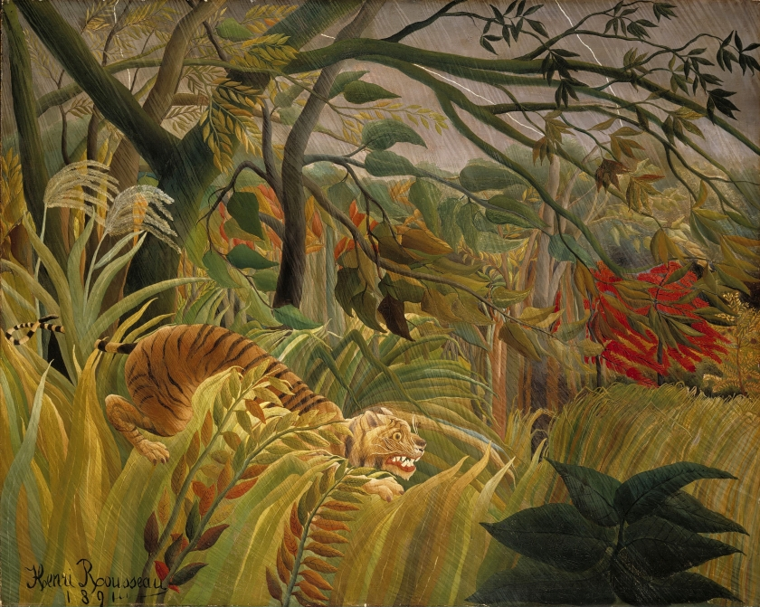 Henri Rousseau – Tiger in a Tropical Storm