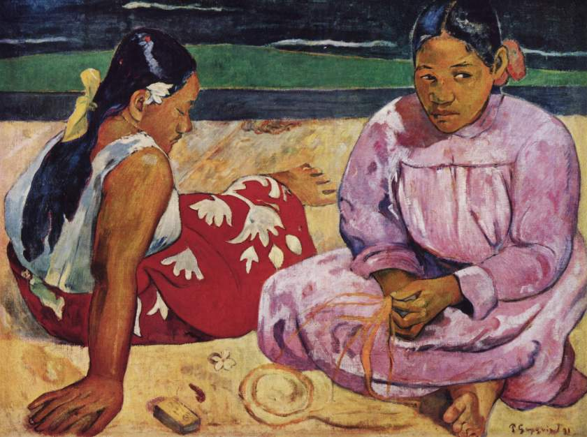 Paul Gauguin – Tahitian Women on the Beach