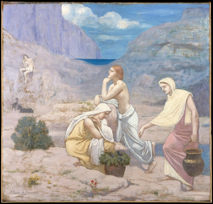 Pierre Puvis de Chavannes – The Shepherd's Song