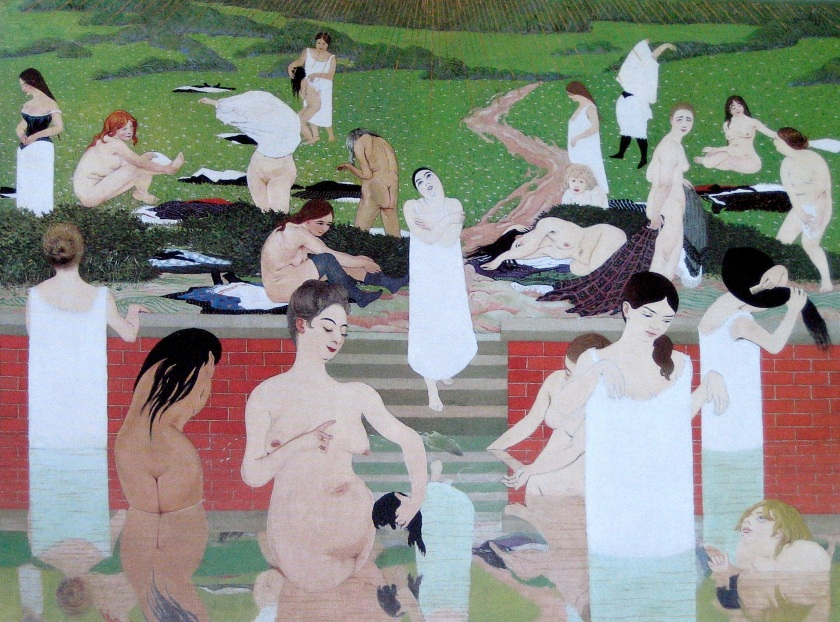 Félix Vallotton - Bathers on a Summer Evening