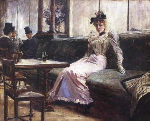 Juan Luna - The Parisian Life