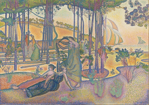 Henri-Edmond Cross - The Evening Air