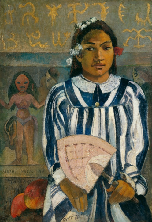 Paul Gauguin - The Ancestors of Tehamana (Merahi metua no Tehamana)
