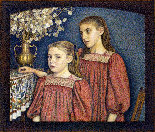 Georges Lemmen - The Two Sisters