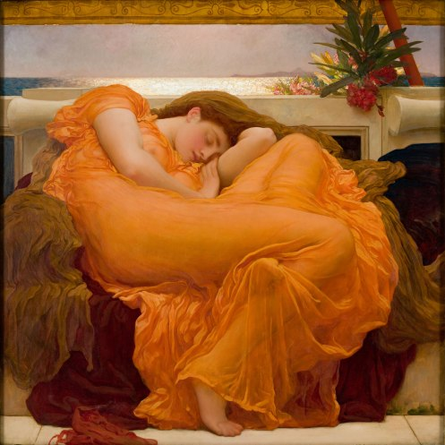 Sir Frederic Leighton - Flaming June