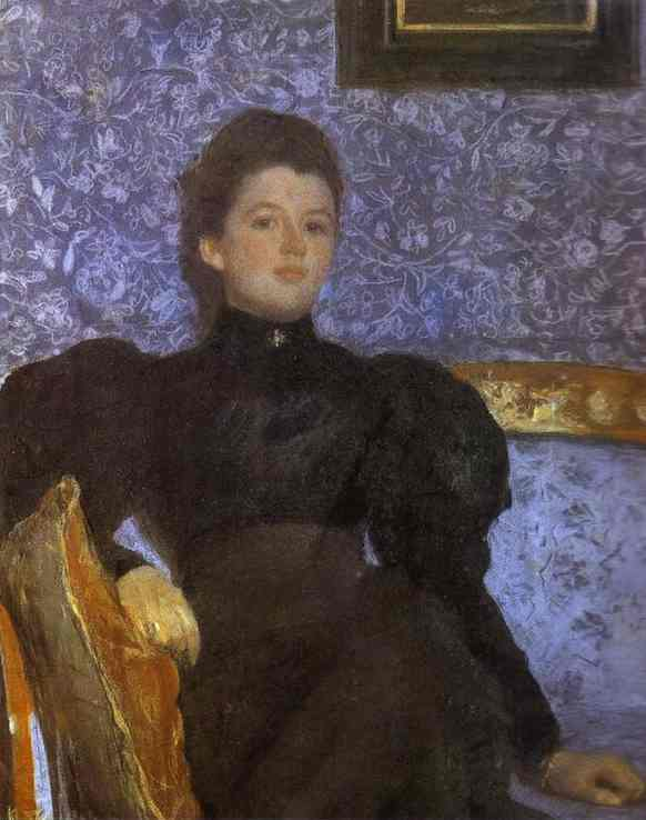 Valentin Serov – Portrait of Countess Varvara Musina-Pushkina