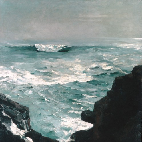 Winslow Homer – Cannon Rock