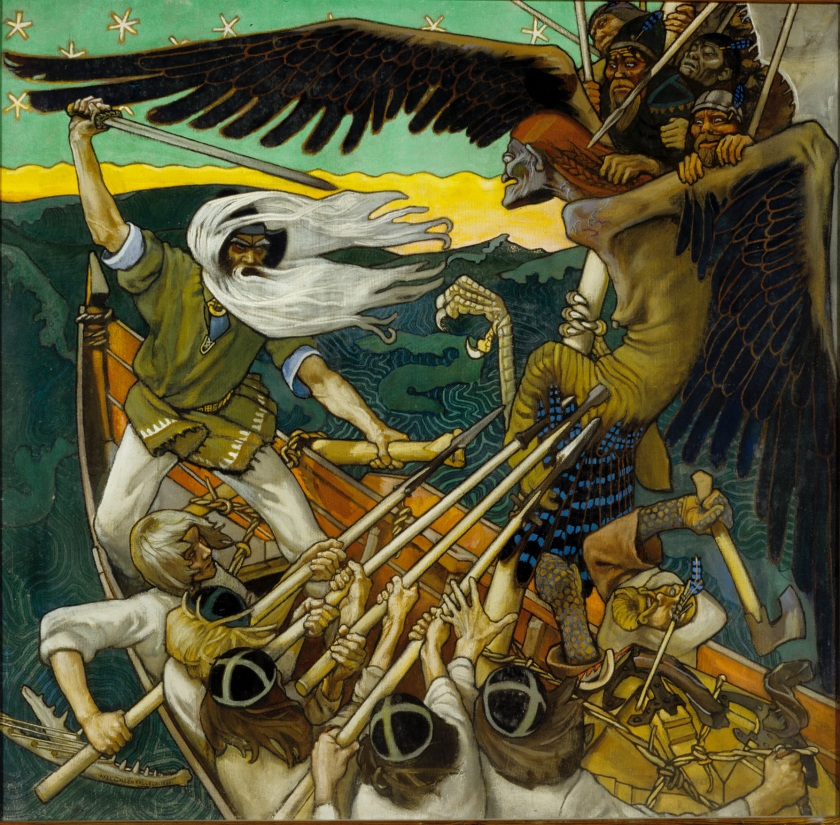 Akseli Gallen-Kallela – The Defense of the Sampo