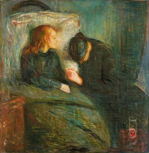 Edvard Munch - The Sick Child