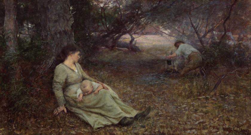 Frederick McCubbin – On the wallaby track