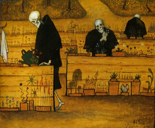 Hugo Simberg – The Garden of Death