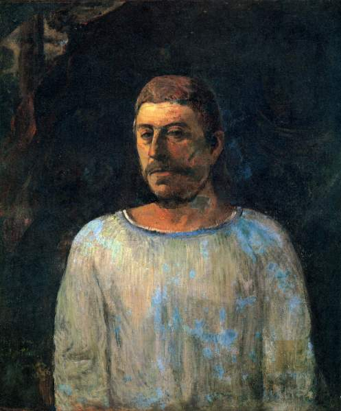 Paul Gauguin - Self-portrait 'près du Golgotha'