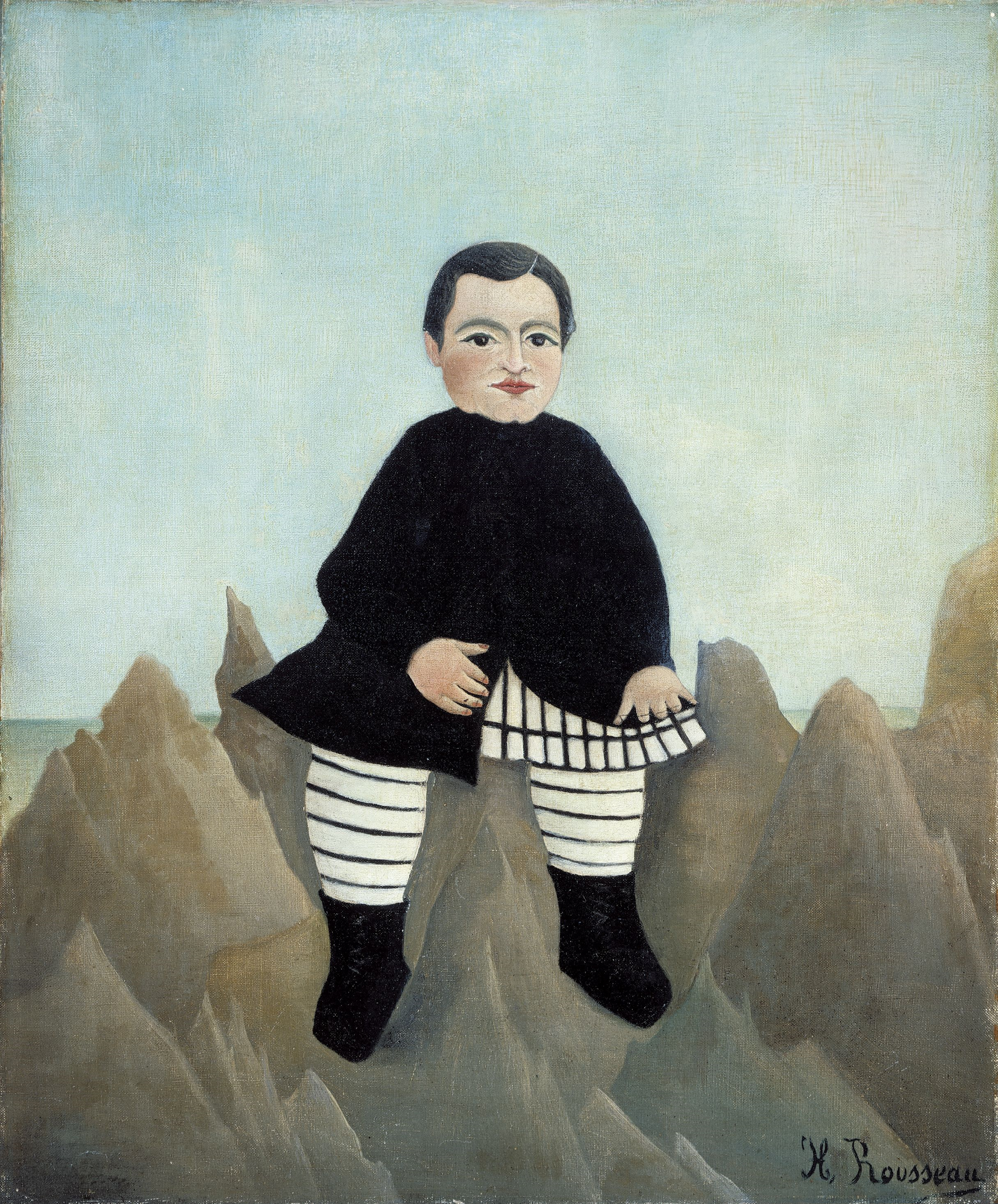 Henri Rousseau – Boy on the Rocks