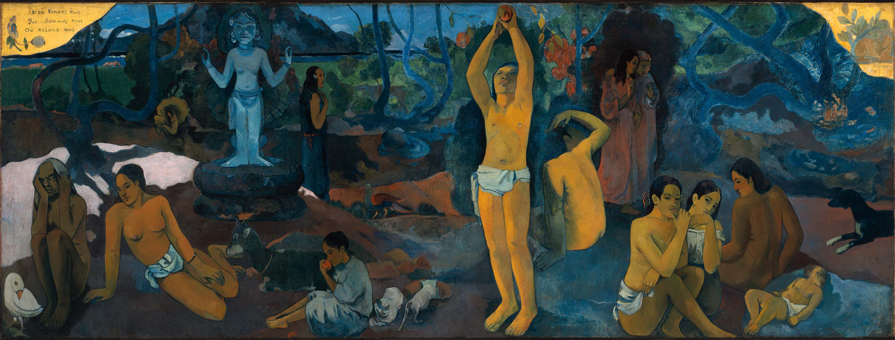 Paul Gauguin – Where Do We Come From What Are We Where Are We Going