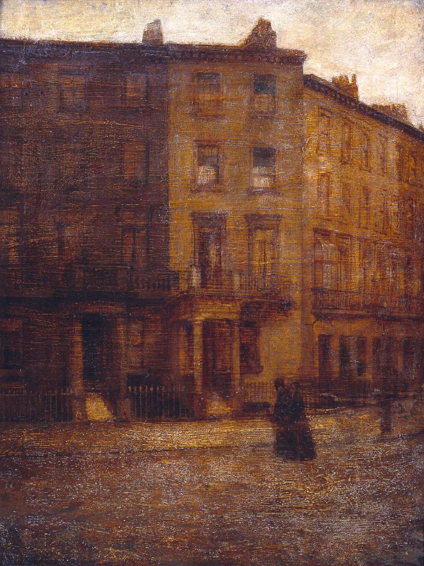 Bessborough Street, Pimlico 1900 by Ambrose McEvoy 1878-1927