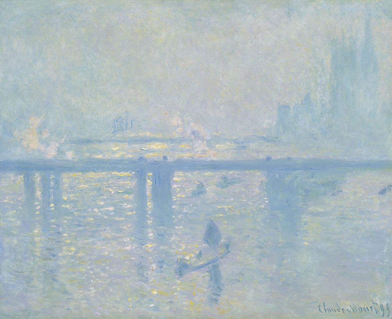 Claude Monet – Charing Cross Bridge