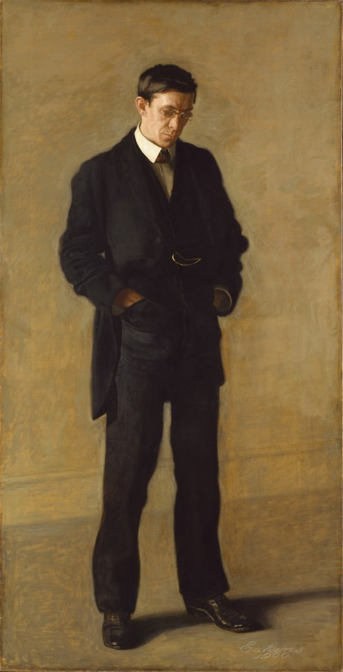 Thomas Eakins - The Thinker, Portrait of Louis N. Kenton