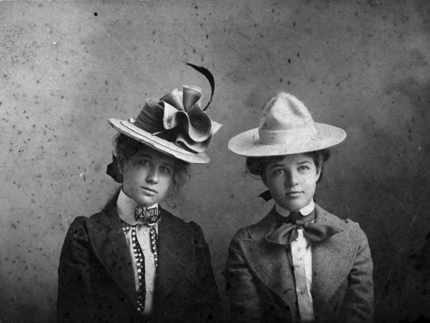Photograph of Bess Wallace and Mary Paxton