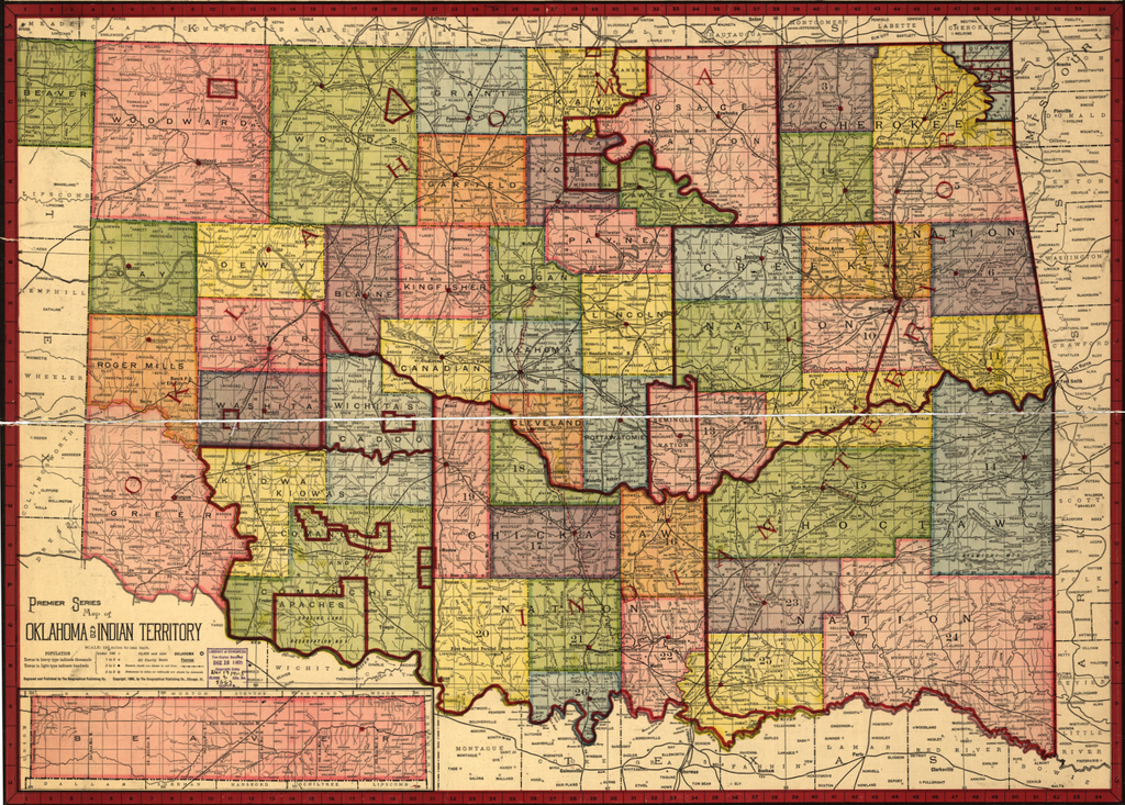 Registration opened for the Oklahoma Territory land lottery at 9 in the morning on July 10th
