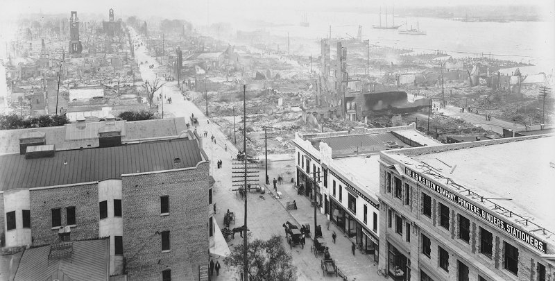 The Great Fire of 1901 in Jacksonville 2