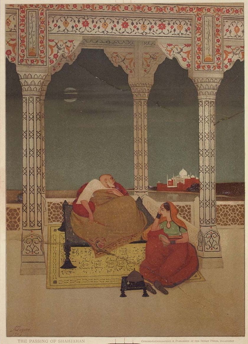 Abanindranath Tagore - The Passing of Shah Jahan