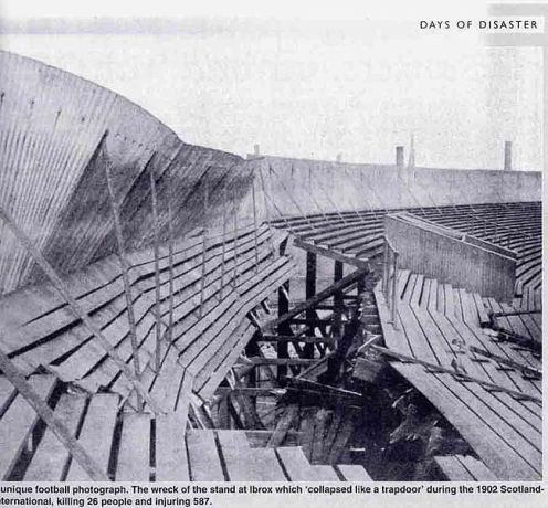 April 5th - The Ibrox Stadium stands collapse during an England-Scotland match - 25 are killed, 517 are injured