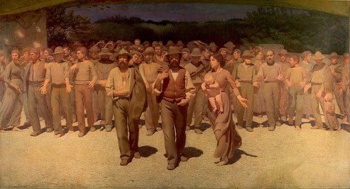 Giuseppe Pellizza da Volpedo - The Fourth Estate