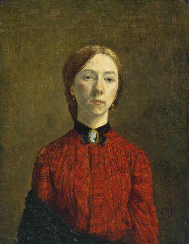 John, Gwen, 1876-1939; Self-Portrait