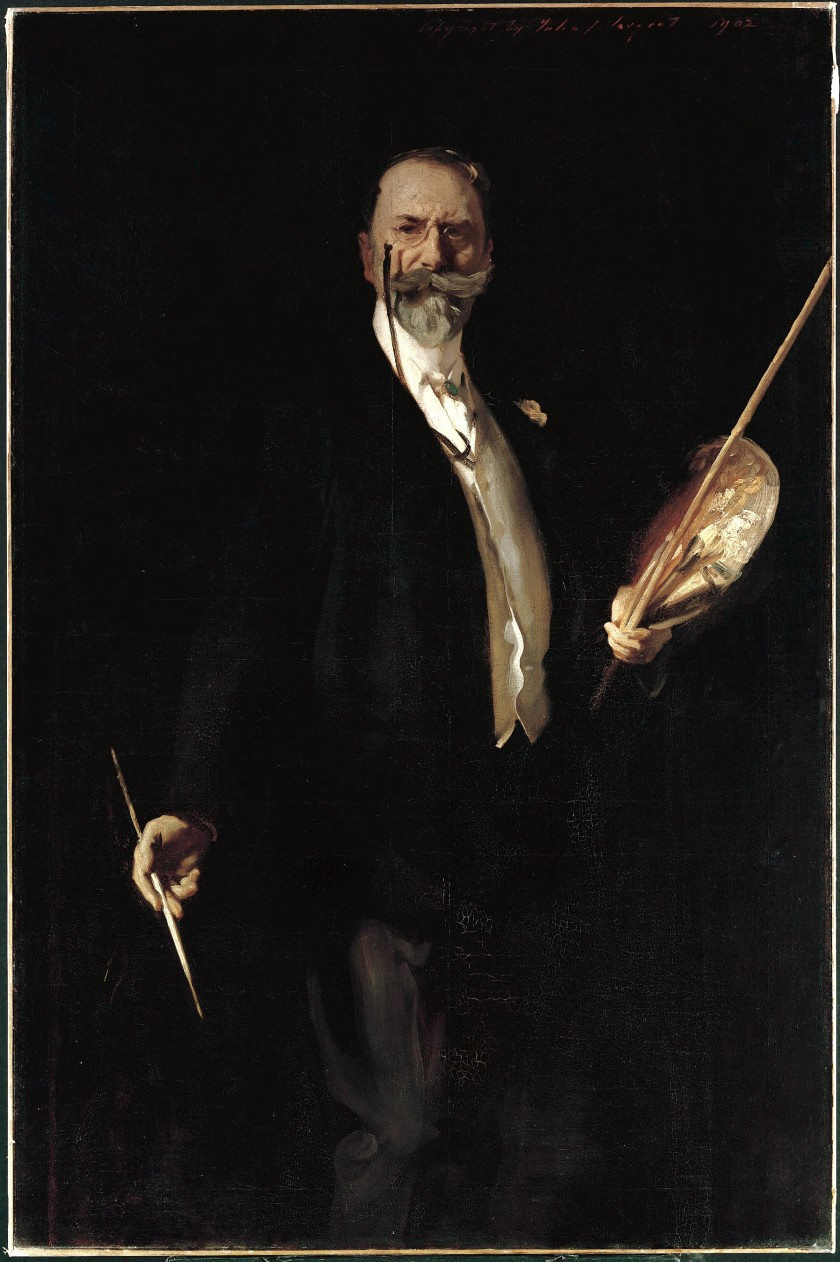 John Singer Sargent - William M. Chase, N. A.