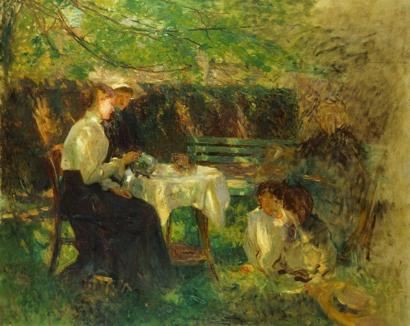 Walter Osborne – Tea in the Garden