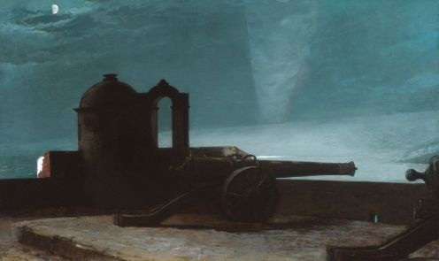 Winslow Homer – Searchlight on Harbor Entrance, Santiago de Cuba