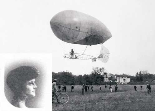 American socialite Aida de Acosta, 19, becomes the first woman to fly a powered aircraft solo, when she pilots a motorized dirigible from Paris to Château de Bagatelle