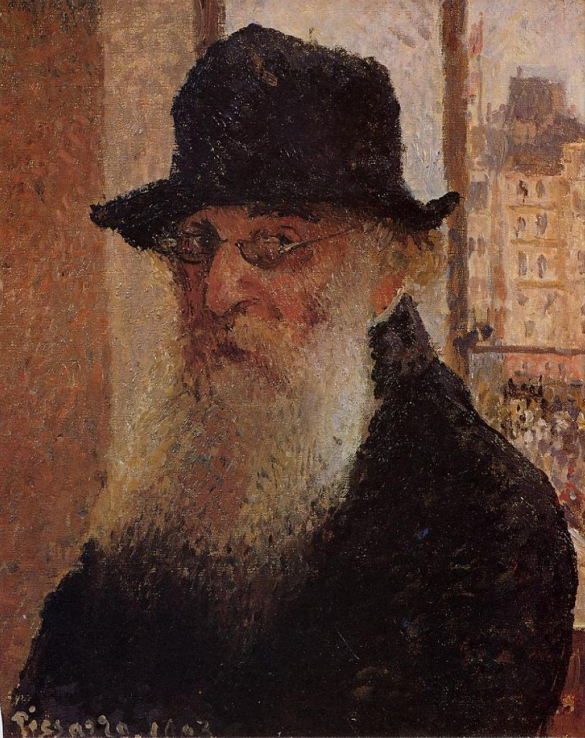 Camille Pissarro – Self-portrait