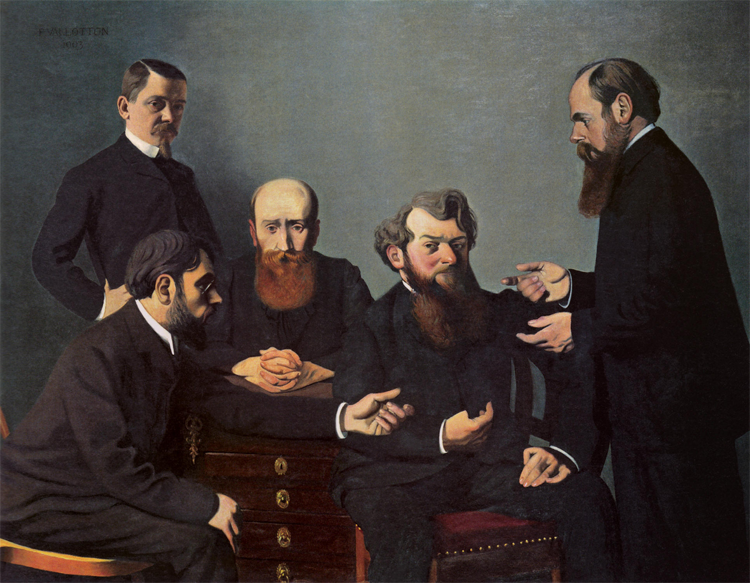 Félix Vallotton – The Five Painters