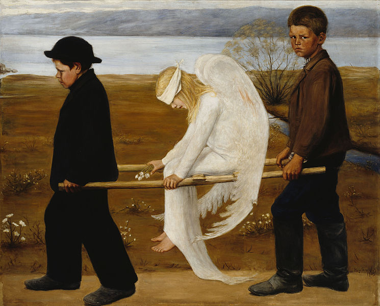 Hugo Simberg – The Wounded Angel