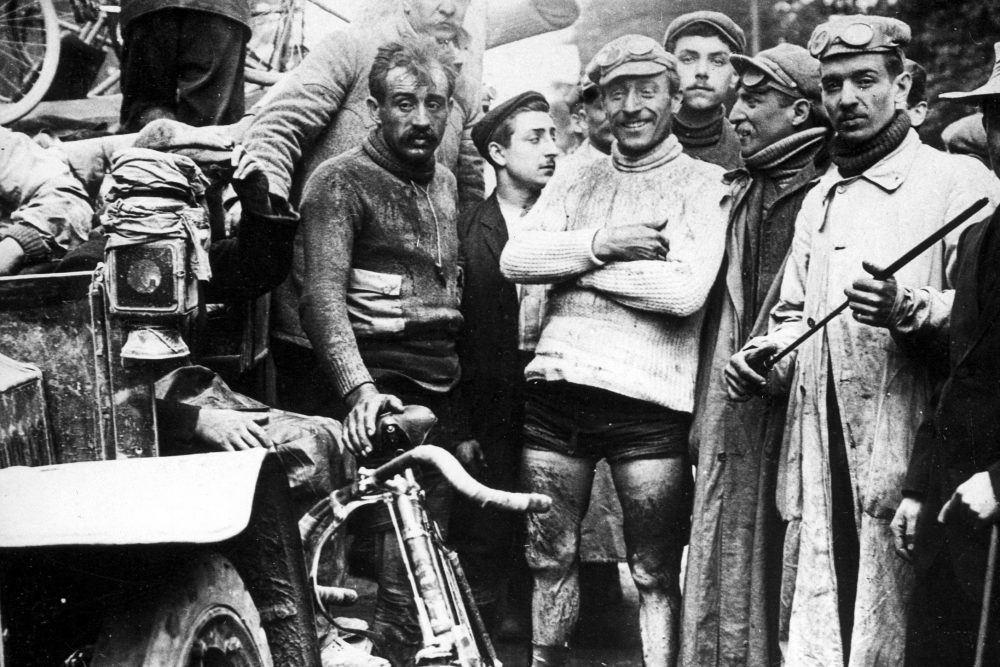 The first Tour De France is won by Maurice Garin