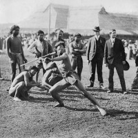 Strychnine, Egg Whites, Brandy and a Human Zoo: The Terrible 1904 Olympics