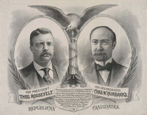 November 8 – U.S. presidential election, 1904- Republican incumbent Theodore Roosevelt defeats Democrat Alton B. Parker.