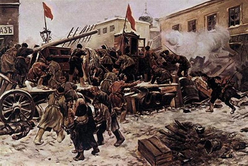 December 7–18 A Bolshevik-led revolt in Moscow is suppressed by the army.