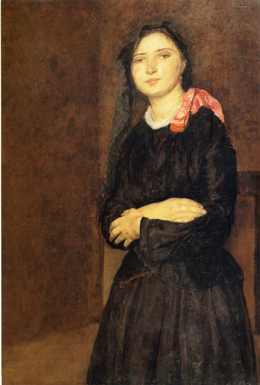 Gwen John – Dorelia in a Black Dress