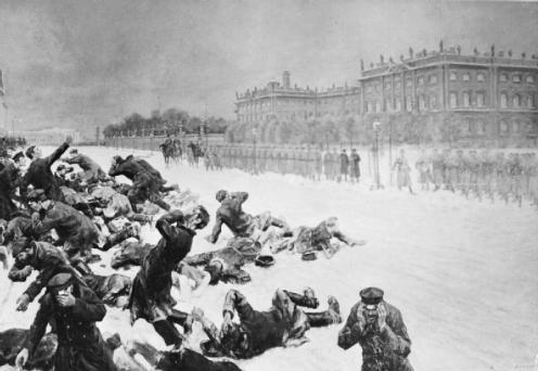 January 22 – The Bloody Sunday massacre of peaceful Russian demonstrators in St Petersberg helps trigger the abortive Russian Revolution of 1905.