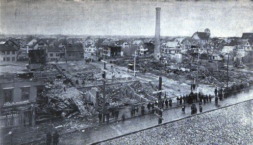 March 20 – Grover Shoe Factory disaster - A boiler explosion, building collapse and fire in Brockton, Massachusetts, kills 58