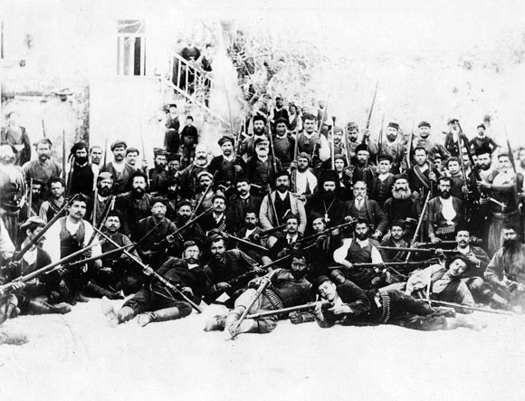 March 23 – About 1,500 men, led by Eleftherios Venizelos, meet at the village of Theriso, Crete, to challenge the island's authoritarian government, and press for its unification with