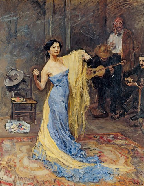 Max Slevogt – Portrait of the Dancer Anna Pavlova