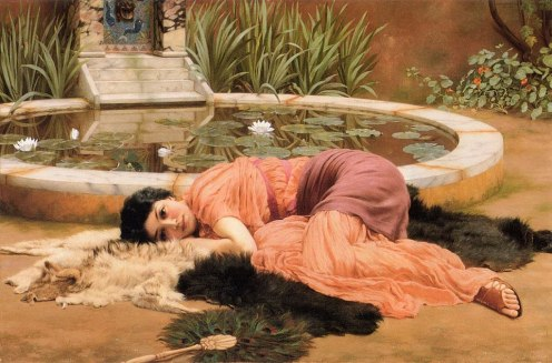 William Godward - Dolce Far Niente