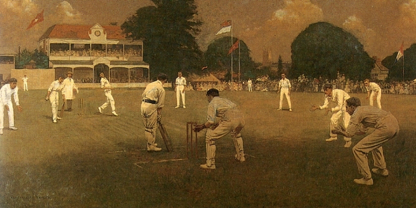 Albert Chevallier Tayler – Kent vs Lancashire at Canterbury