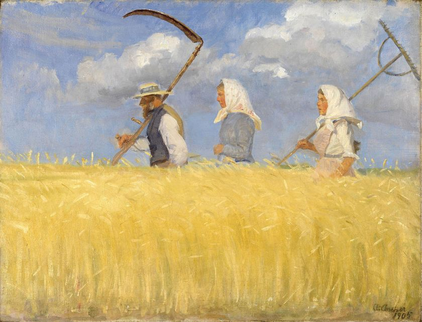 Anna Ancher – Harvesters