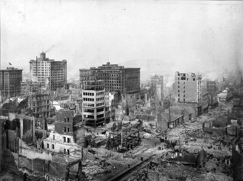 April 18 – The San Francisco Earthquake (estimated magnitude 7.8) on the San Andreas Fault destroys much of San Francisco, California, killing at least 3,000