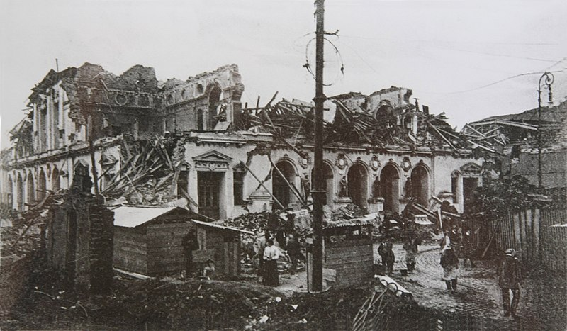 August 16 – A magnitude 8.2 earthquake in Valparaíso, Chile leaves approximately 20,000 dead.