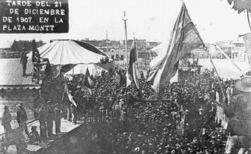 December 21 – In Chile, soldiers fire at striking mineworkers gathered in the Santa María School in Iquique. Over 2,000 are killed.